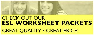 ESL worksheets for students and teachers